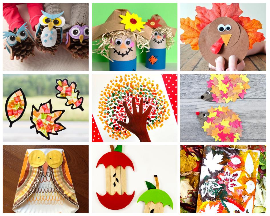10 Cute Autumn DIYs for Kids
